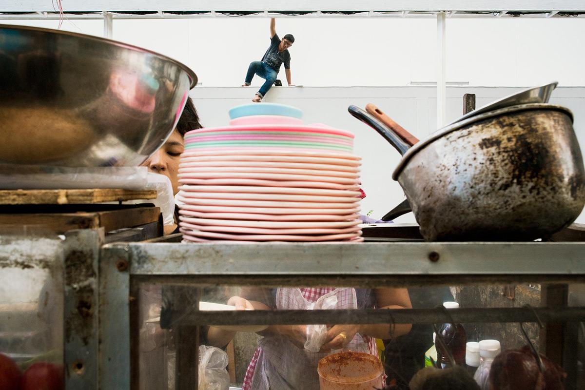 Tayland Sokak Fotoğrafçıları